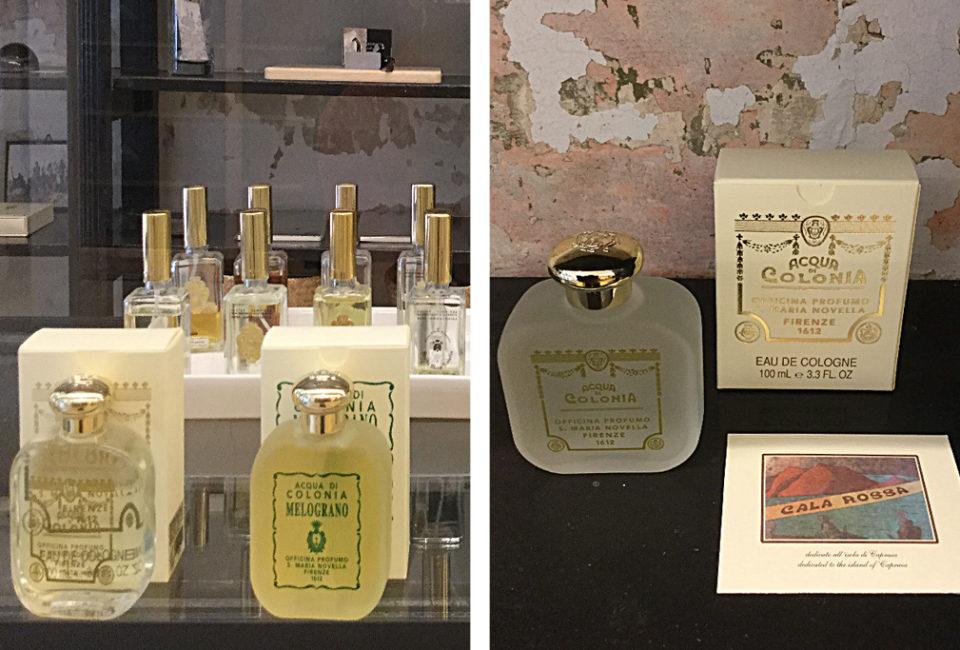 Perfumes del comercio AUKA.