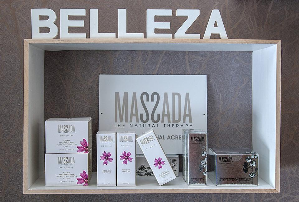 Productos de belleza y estética MASSADA.