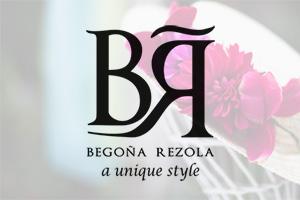 Logotipo de BEGOÑA REZOLA para página de colaboradores.