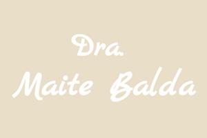 Imagen de portfolio de la doctora Maite Balda.