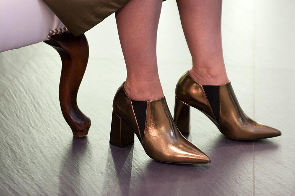 Detalle de calzado Ainhoa Etxeberría.