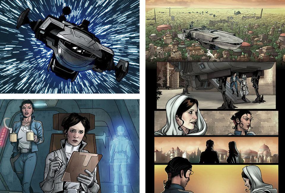 Ilustración de cómic realizada por ANGEL UNZUETA.