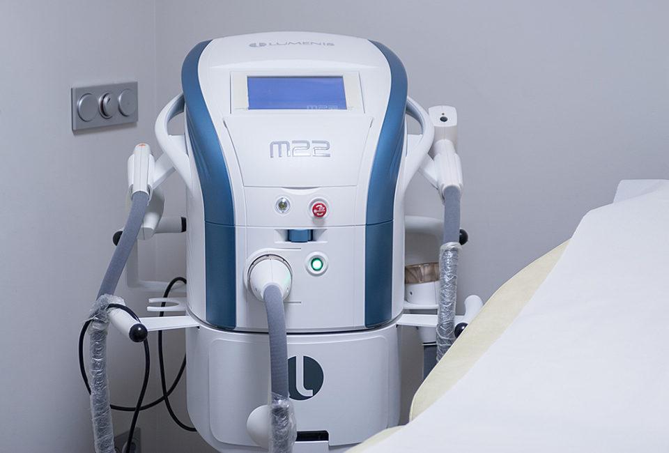 Máquina tratamientos de estética y medicina.