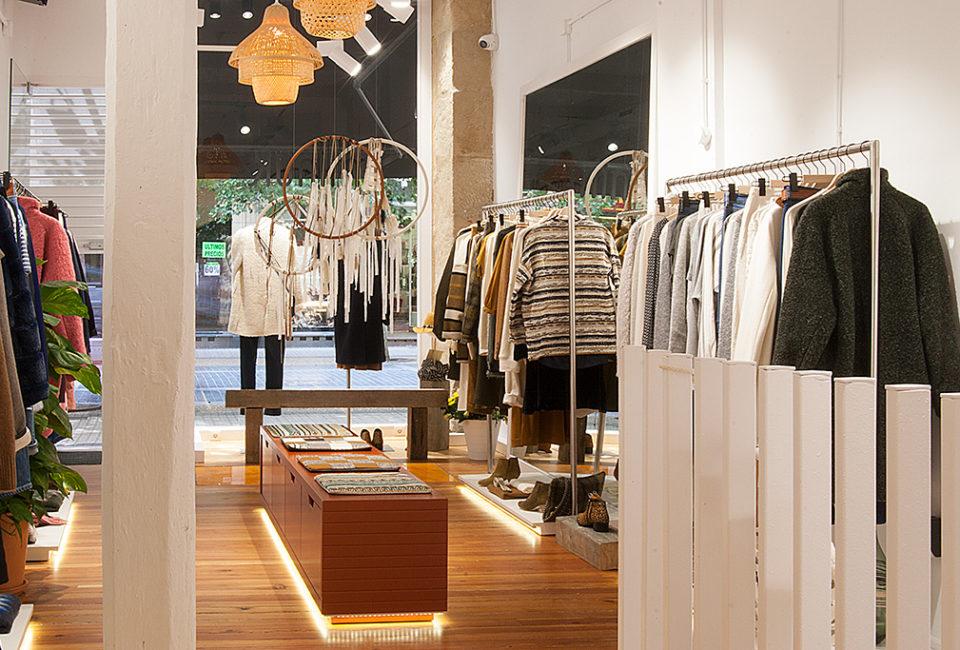 Interior de la tienda Minük de Donostia-San sebastián.