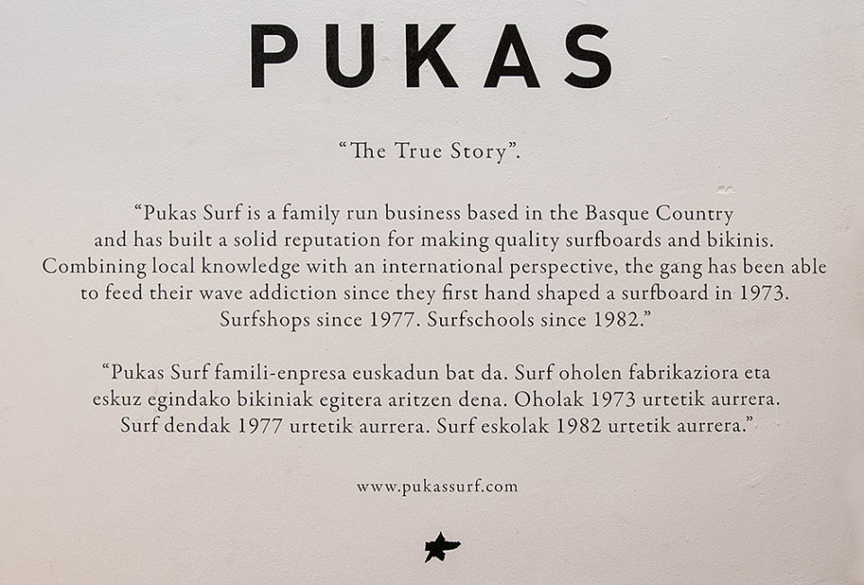 Historia de PUKAS Surf.