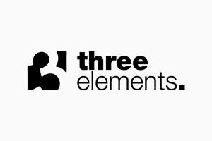 Logotipo Three Elements.