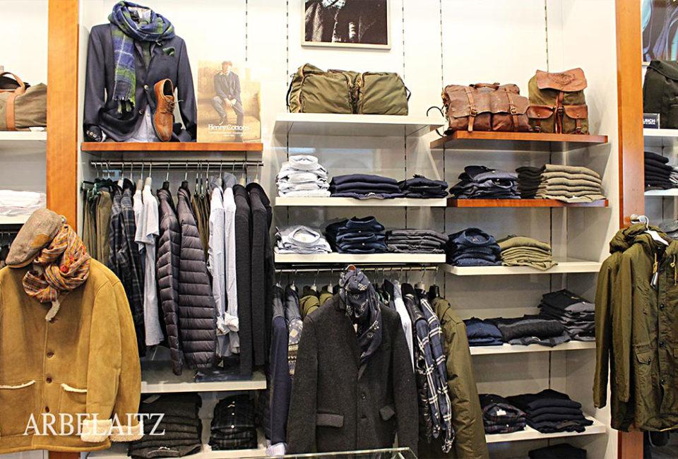 Prendas del comercio de moda ARBELAITZ.
