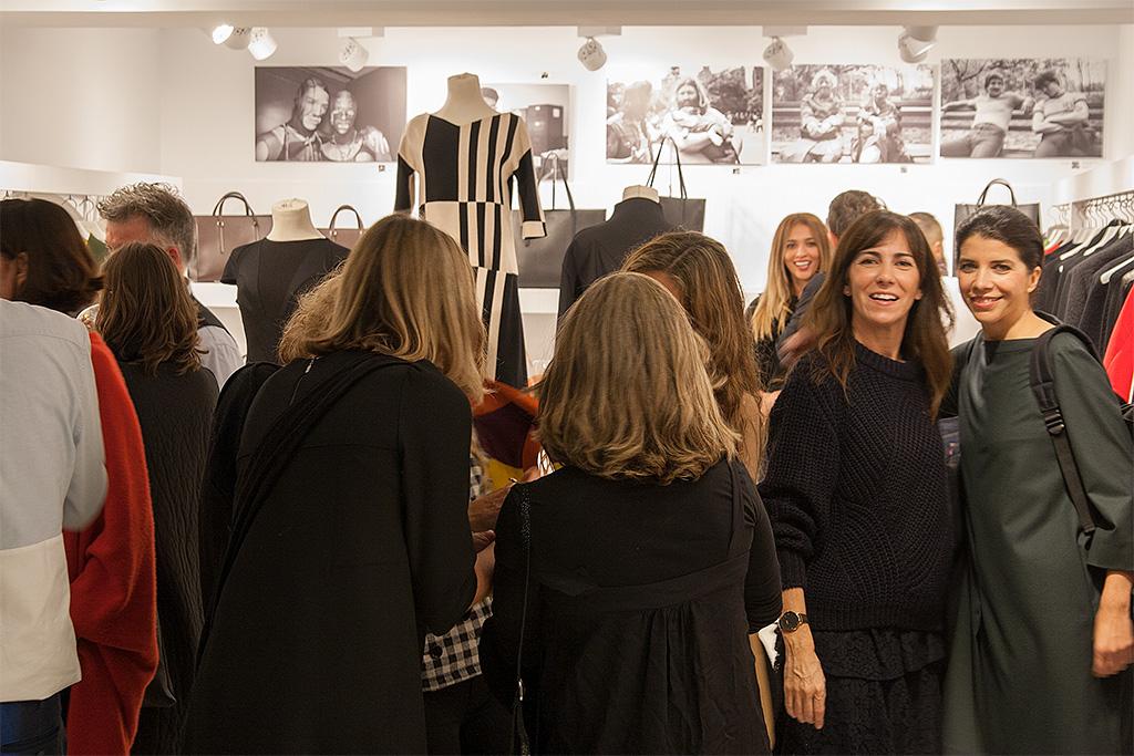 Presentación de la nueva colección otoño-invierno de SYBILLA en la tienda NOVENTA GRADOS.