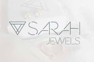 Logotipo de Sarah Jewels.