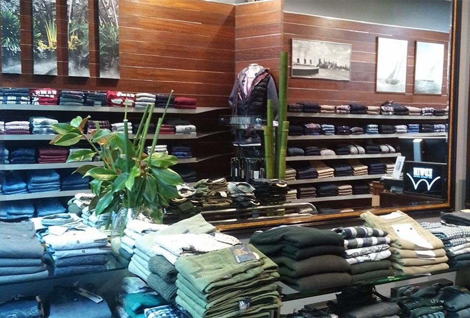 Interior de la tienda Individual de San Sebastián.