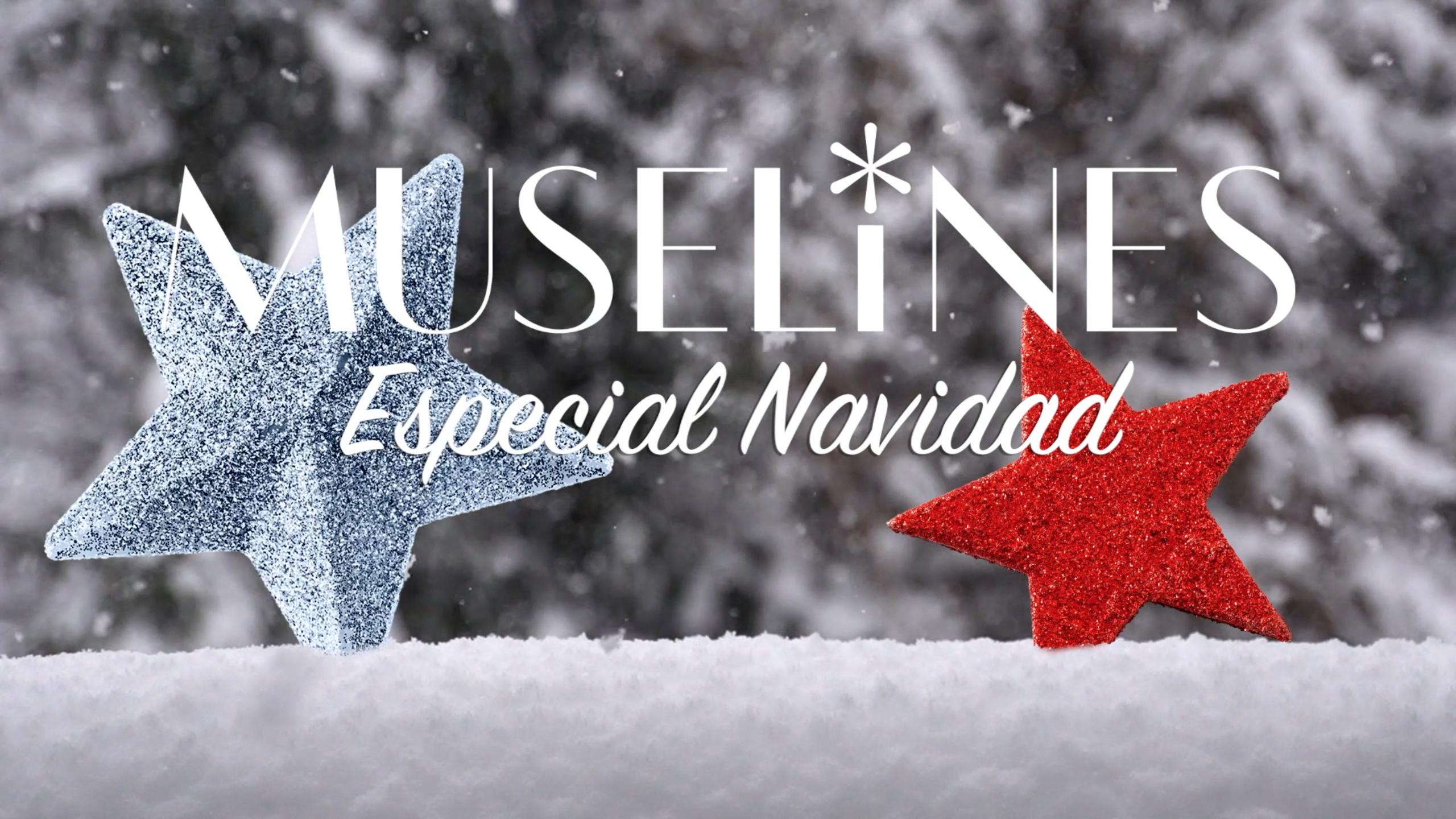 Imagen estática de anuncio de la sección ESPECIAL NAVIDAD de Muselines.