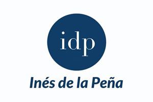 Logotipo de Inés de La Peña, asesora de imagen.