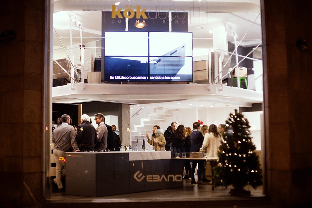 Inauguración nueva exposición de mobiliario de cocina en Kökdeco.