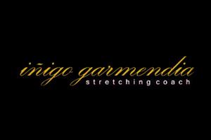 Logotipo de Iñigo garmendia - Stretching Coach para página de colaboradores.