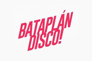 Logotipo de Bataplán Disco para página de colaboradores.