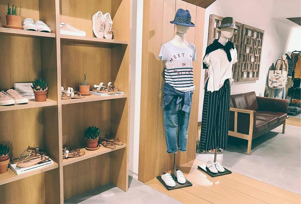Interior de la tienda Sketch Concept, situada en la Avenida de la Libertad 35.