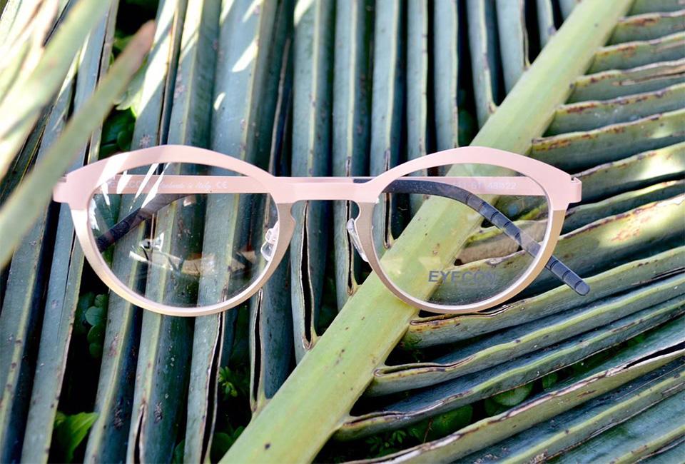 Gafas de la óptica Zinkunegi de San Sebastián.