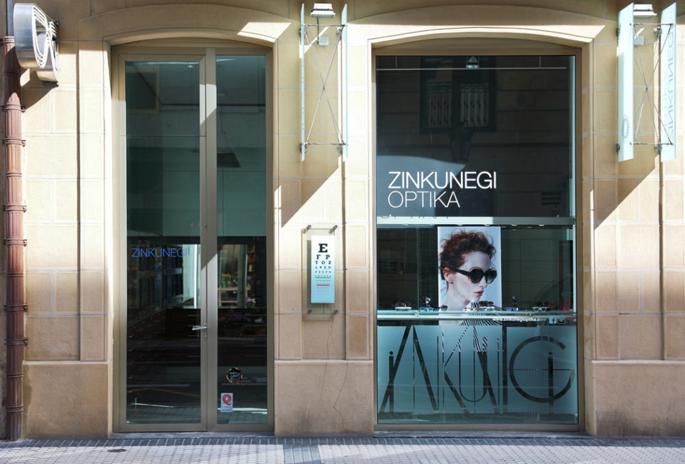 Imagen del exterior de Zinkunegi Optika