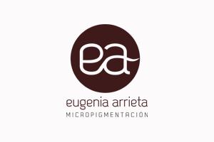 Logotipo de Eugenia Arrieta para página de colaboradores.