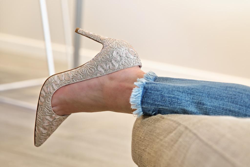 Elena Trocaola con calzado Ainhoa Etxeberria - The Shoe Boutique.