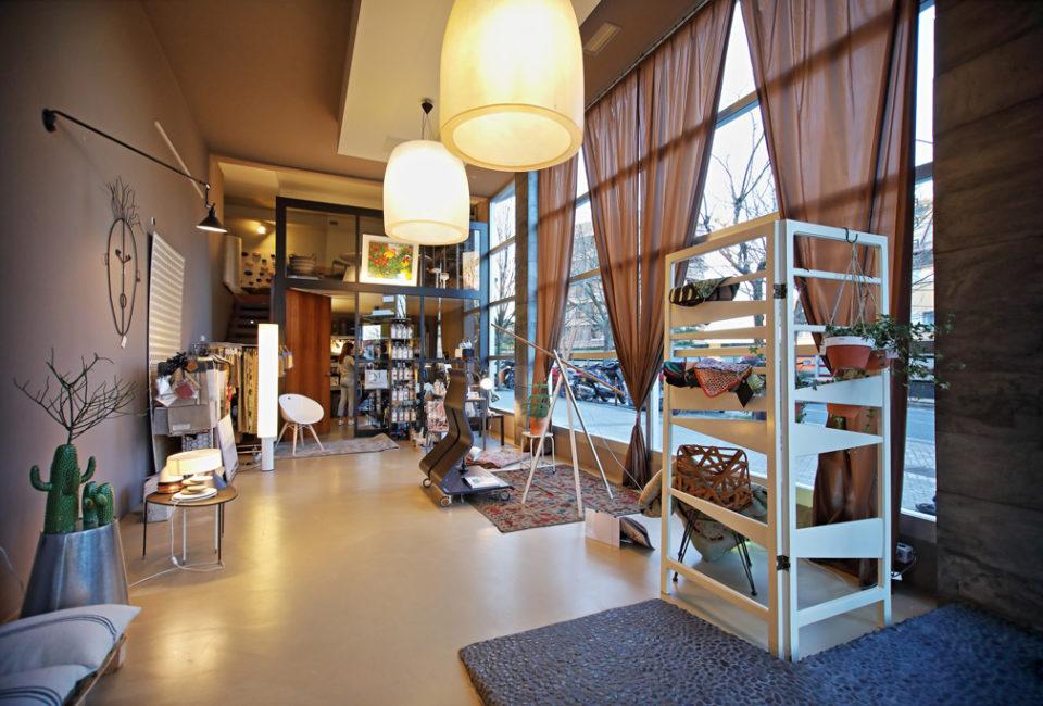 Interior del estudio de Elena Trocaola