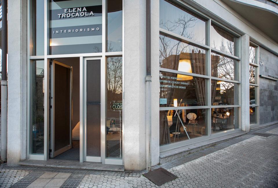 Exterior del estudio de Elena Trocaola