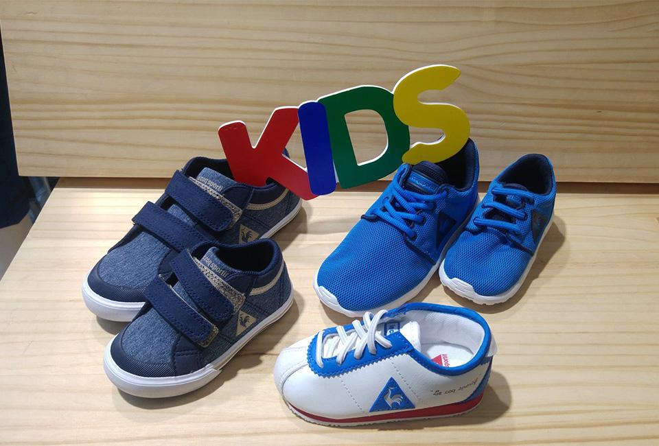 Calzado infantil de la tienda deportiva ROBERS.