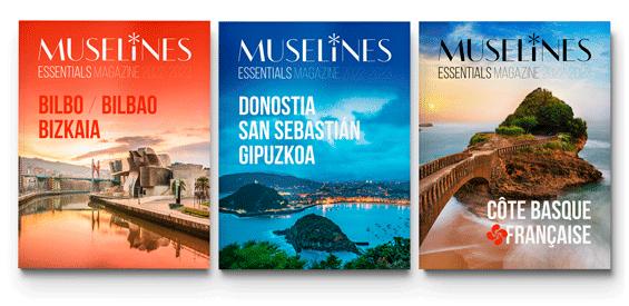 Portadas de MUSELINES MAGAZINES Essentials 2022