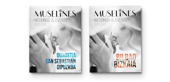 Portadas MUSELINES MAGAZINES Weddings & Events 2022